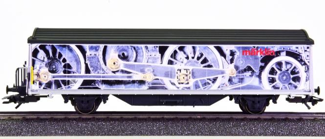 Märklin 4735.943 - Schiebewandwagen Hbils -Swiss Collection-