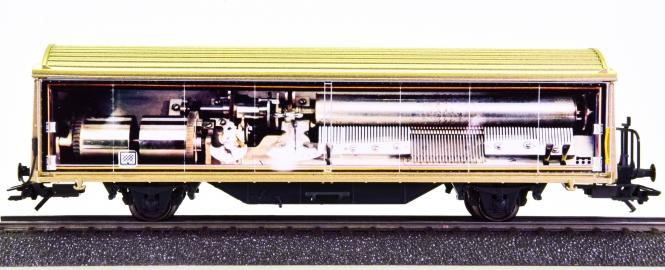 Märklin 4735.950 - Schiebewandwagen Hbils -Swiss Collection II-