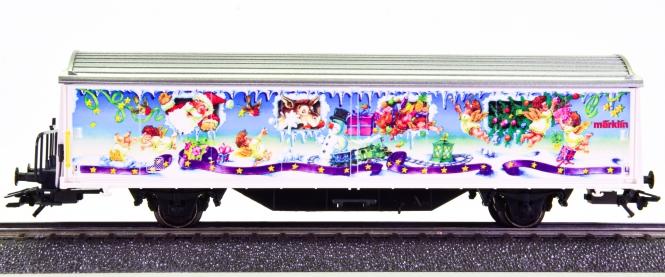 Märklin 94007 – Schiebewandwagen -Weihnachtswagen 1996-