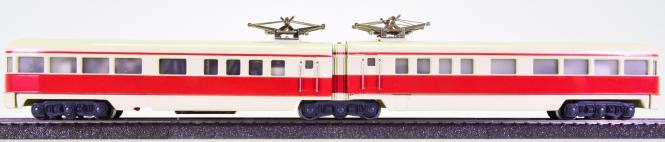 Märklin DT 800 – 2-teiliger Triebzug in beige/rot, ähnlich BR ET 25 der DRG