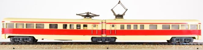 Märklin DT 800 – 2-teiliger Triebzug in beige/rot ET 25 der DRG, Variante 3, restauriert