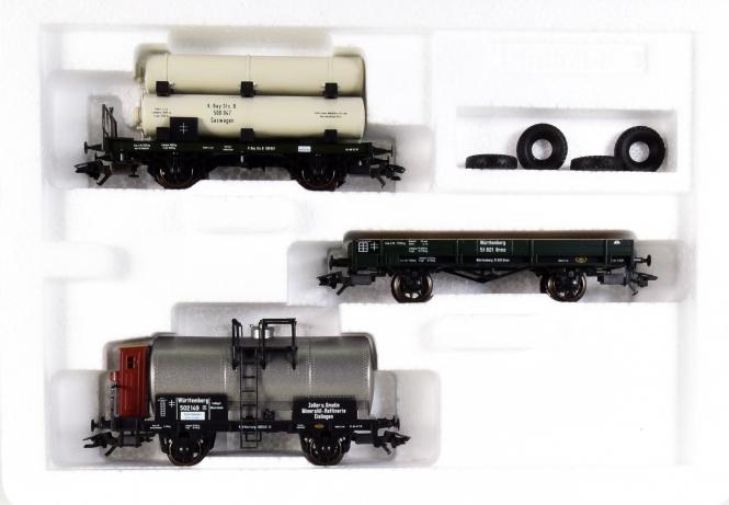 Märklin 46073 - Güterwagen-Set Zeppelin der K.Bay.Sts.B. / K.W.St.E.