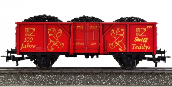 Märklin 94195 - Offener Güterwagen Elu 061 -100 Jahre Steiff-Teddys-