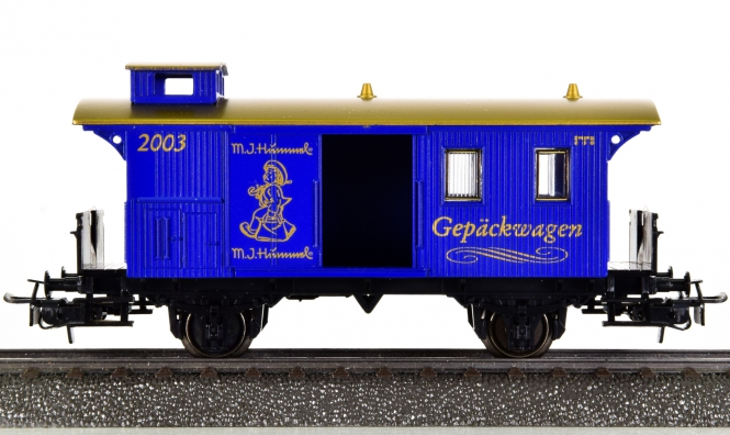 Märklin 94196 – Gepäckwagen Pwi -Sonderfahrt märklin / Hummel-