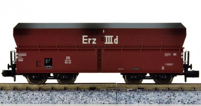 Minitrix 15041-15 - Selbstentladewagen OOtz 50 -Erz IIId- der DB