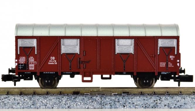 Minitrix 15041-02 - Gedeckter Güterwagen Gmhs 53 der DB