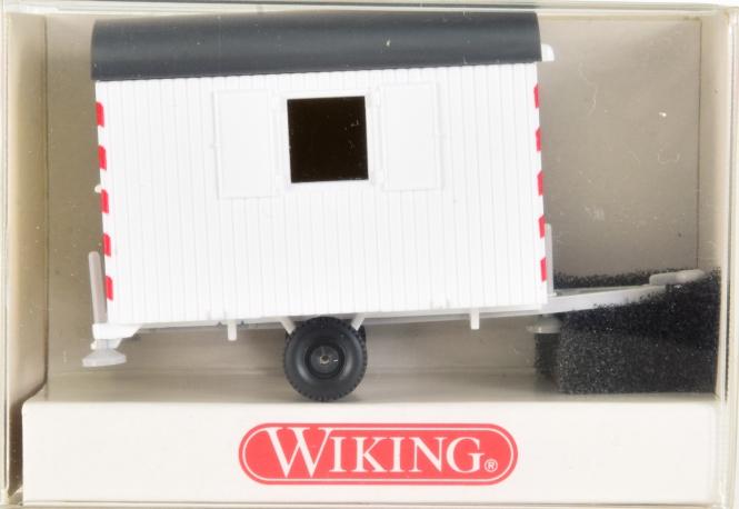 Wiking 65601 (1:87) – Bauwagen weiß
