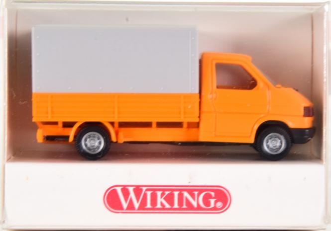 Wiking 2980122 (1:87) – VW Transporter- Pritsche mit Plane