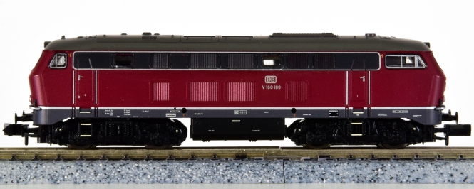 Brawa 1391 (N) – Mehrzweck-Diesellok V160 der DB