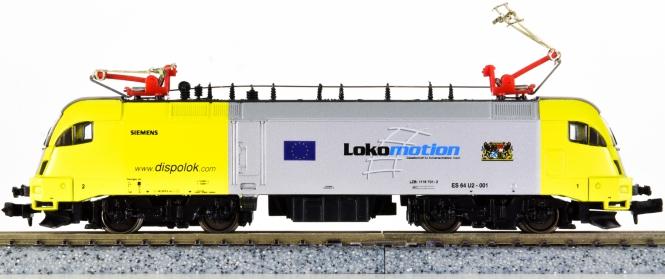 Hobbytrain 219674 (N) – Elektrolok BR 182 Taurus der Dispolok Lokomotion