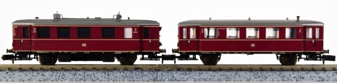 Minitrix 12528 – 2-teiliger Dieseltriebzug VT 75/VB 140 der DB, digital (SX/DCC)