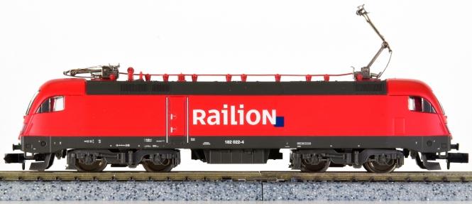 Minitrix 12766 – Mehrzweck-Elektrolok BR 182 der Railion, digital (SX)