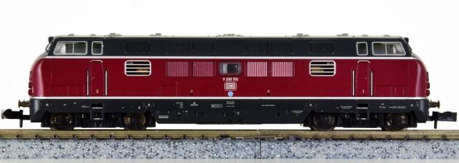 Minitrix 12402 – Mehrzweck-Diesellok V200 der DB