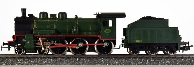 Märklin 3086 – Schlepptender-Dampflok Serie 64 der SNCB