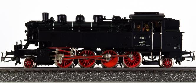 Märklin 3112 – Tender-Dampflok BR 86 der ÖBB