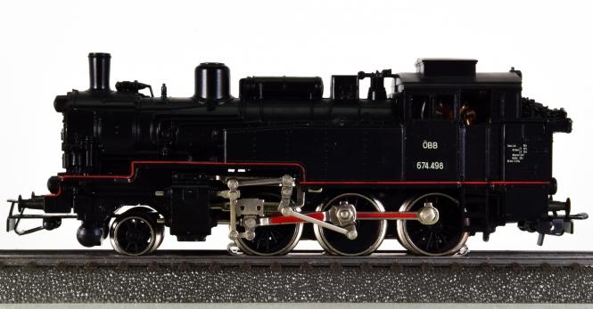 Märklin 3105 – Tender-Dampflok BR 674 der ÖBB