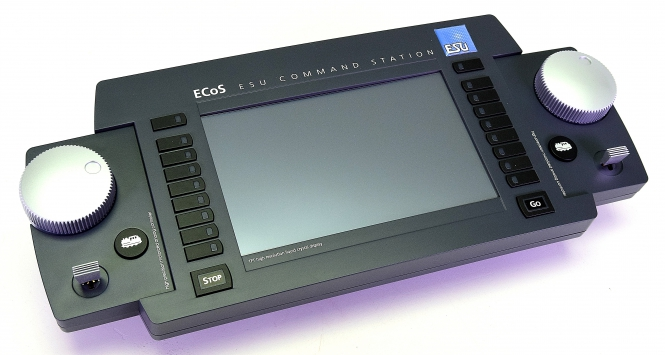 ESU 50210 – ECoS 2.1 Zentrale, 6A, TFT Farbdisplay, MM/DCC/SX/M4, Netzteil -NEU-