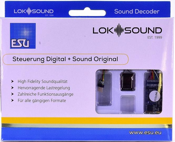 ESU 58416 – LokSound 5 DCC/MM/SX/M4 -Leerdecoder-, 6-pin NEM651 -NEU-